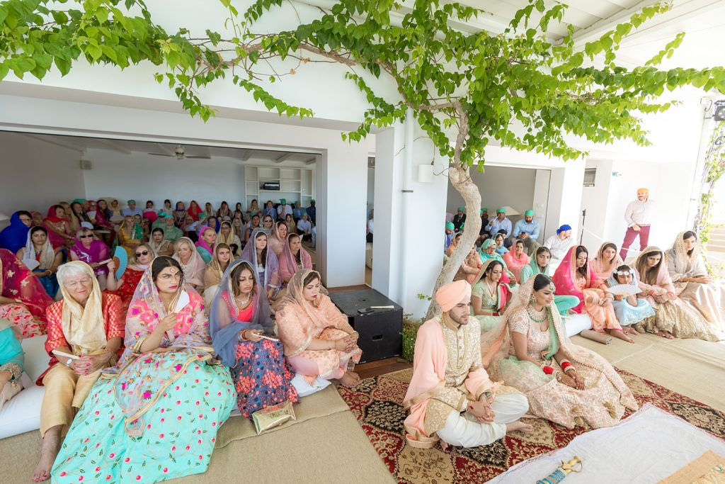 Open air sikh wedding Greece