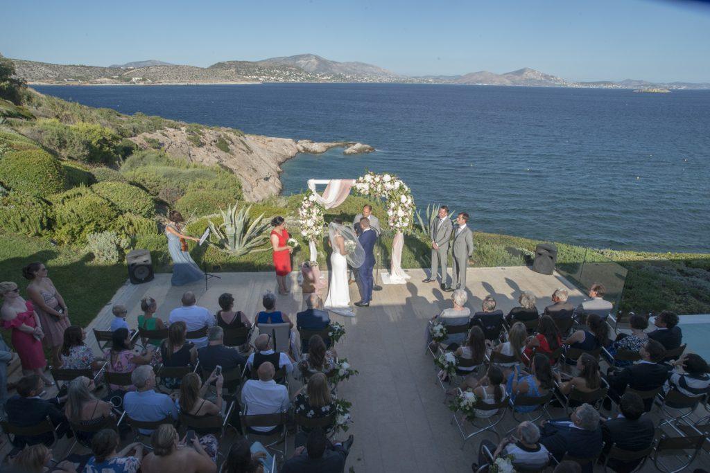Dreamy summer wedding Athens Greece