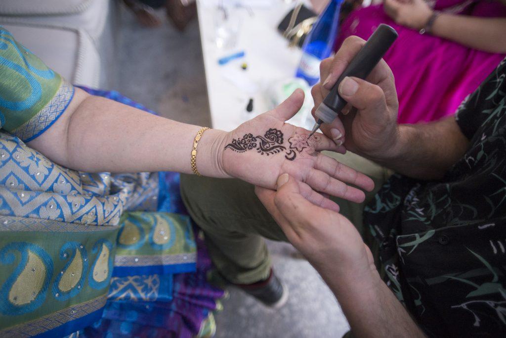 Mehndi artist Greece wedding